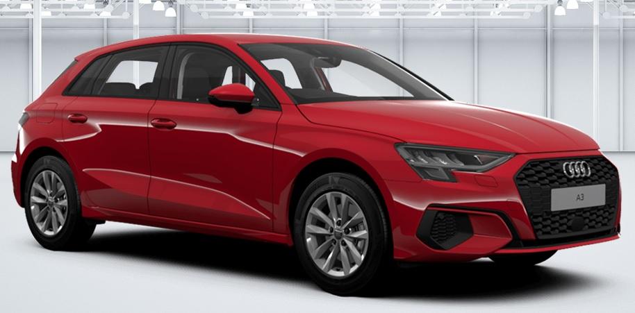Audi A3 Sportback (Petrol) A3 Sportback 30 TFSI SE Technik car leasing nottingham