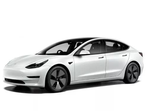 Tesla Model 3 Tesla Model 3 Standard Plus metallic auto car leasing nottingham